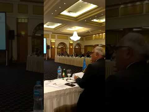 Talking at the IPU-UN regional conference for the Middle East and Africa in Egypt