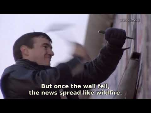 Parliament commemorates Berlin Wall fall English EuroparlTV SD 1536 EN